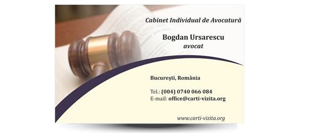 carte vizita avocat