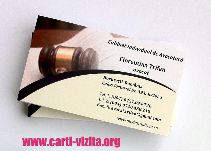 Modele carti de vizita avocat