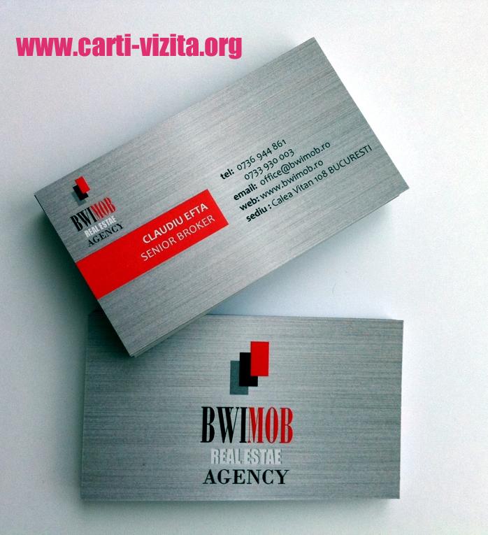 Modele carti de vizita imobiliare