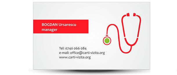 carte de vizita medic familie