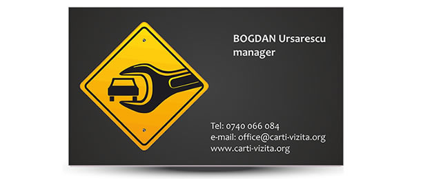 carte vizita service auto