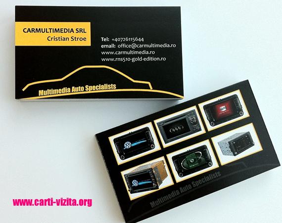 Carti de vizita - Model auto