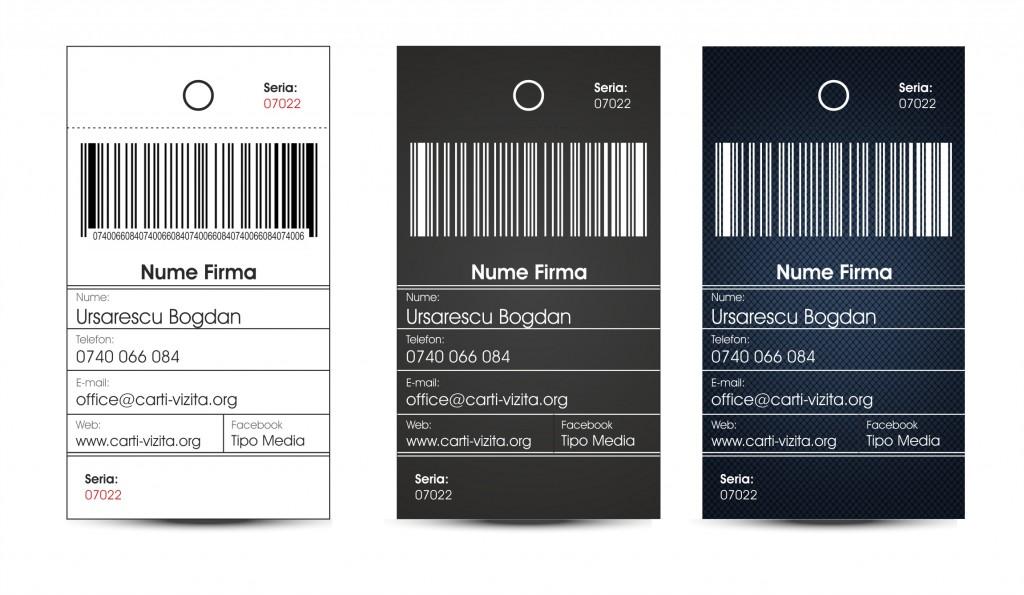 Carte de vizita - Eticheta