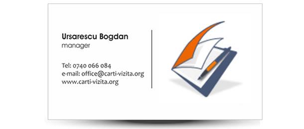carte de vizita firma contabil