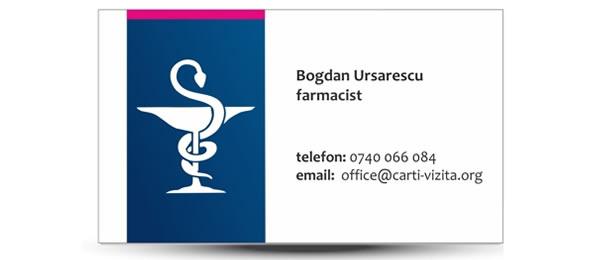 Carte vizita farmacie