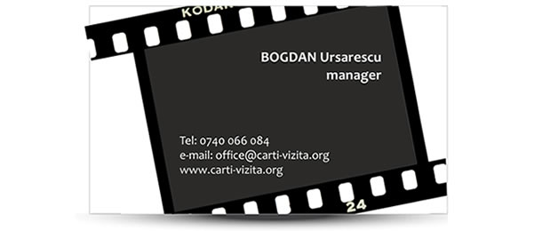 carte vizita film fotografie