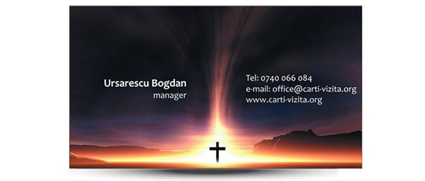 carte vizita firma funebre