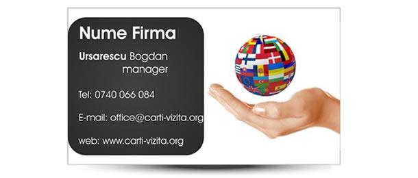 carti vizita birou translator