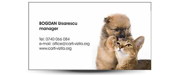 carte vizita veterinar