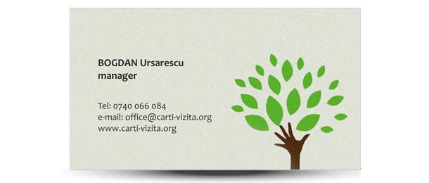 carte vizita agricultura copac