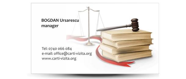 carte de vizita avocat lege