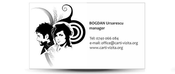 carte vizita hair stylist
