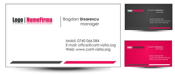 Carte de vizita afaceri