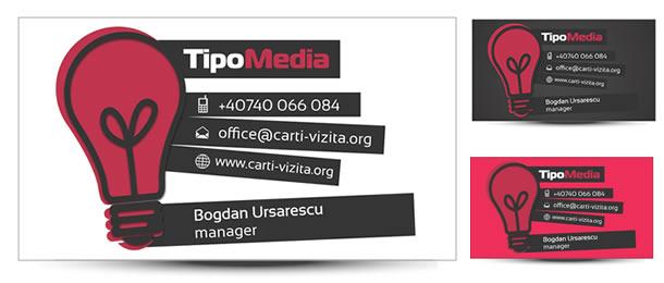 Carte de vizita web designer