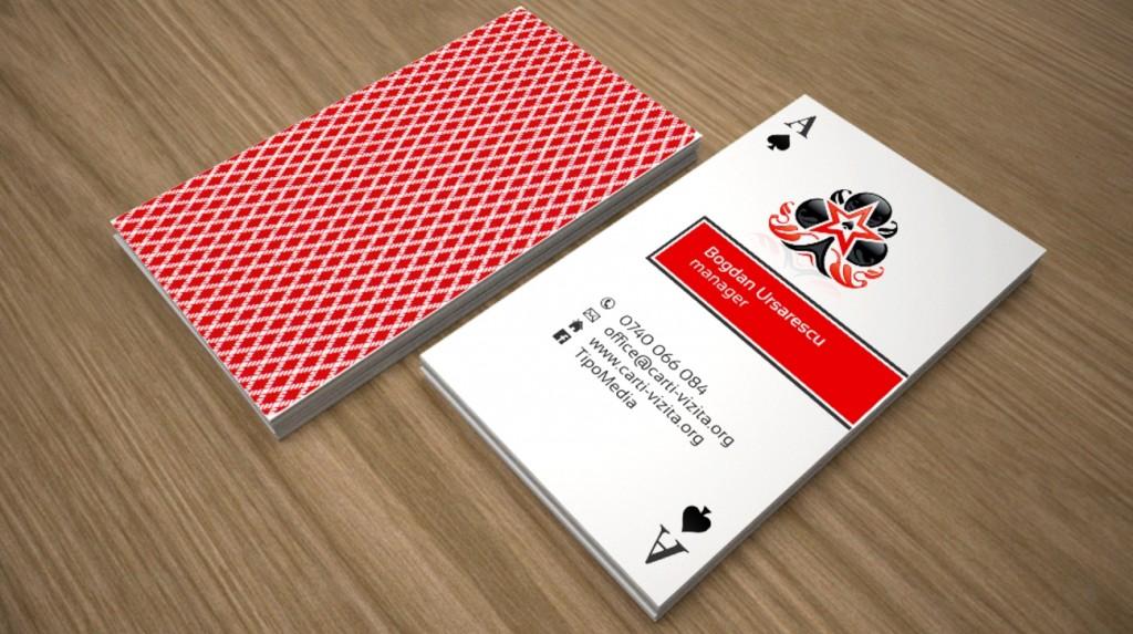 carti de vizita poker
