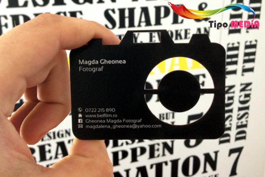 Carte de vizita aparat foto