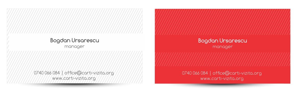 carti de vizita carton colorat